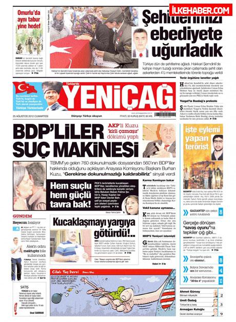 Gazetelerin bugünkü manşetleri galerisi resim 31