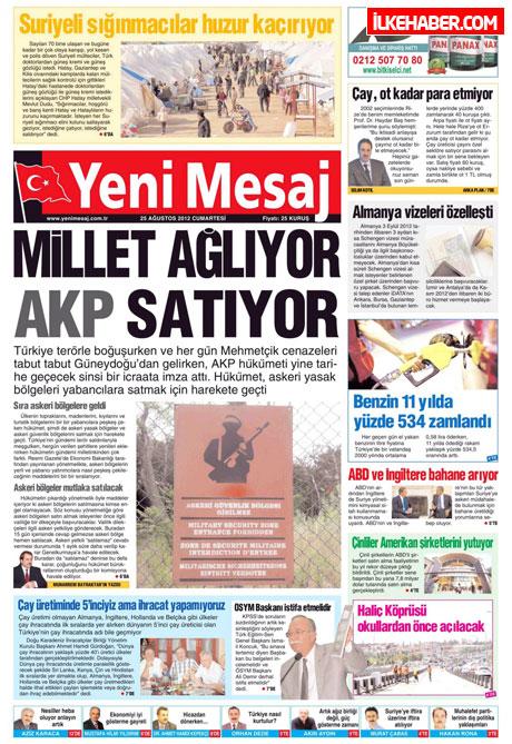 Gazetelerin bugünkü manşetleri galerisi resim 32