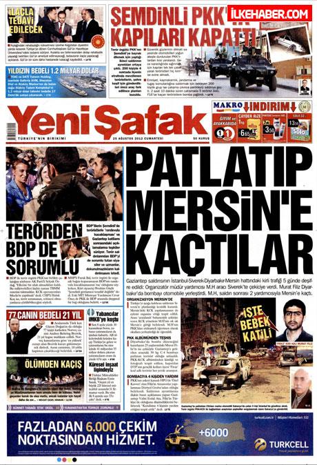 Gazetelerin bugünkü manşetleri galerisi resim 33