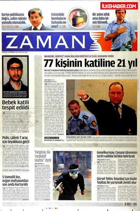 Gazetelerin bugünkü manşetleri galerisi resim 35