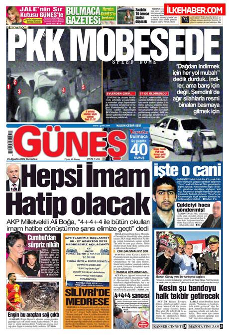 Gazetelerin bugünkü manşetleri galerisi resim 8