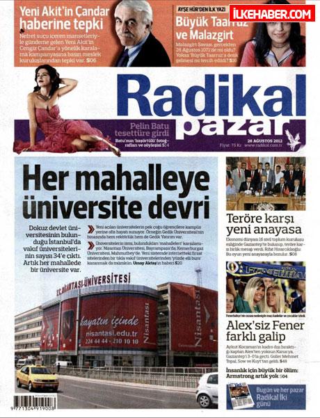 Gazetelerin bugünkü manşetleri ( 25/8) galerisi resim 17