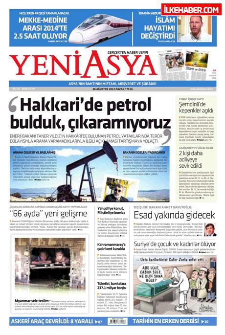 Gazetelerin bugünkü manşetleri ( 25/8) galerisi resim 27