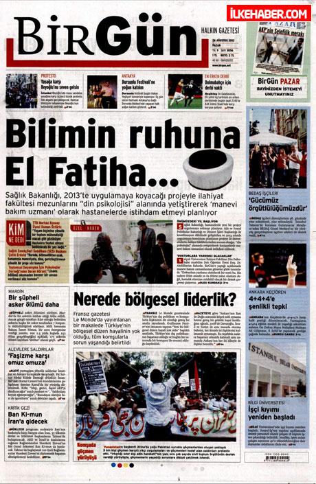 Gazetelerin bugünkü manşetleri ( 25/8) galerisi resim 5