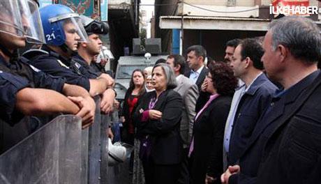BDP'li Vekillere biber gazlı müdahale galerisi resim 11