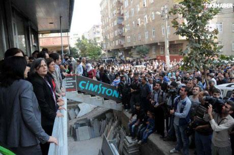 BDP'li Vekillere biber gazlı müdahale galerisi resim 14