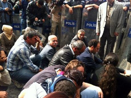 BDP'li Vekillere biber gazlı müdahale galerisi resim 16