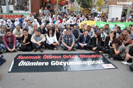 BDP'li Vekillere biber gazlı müdahale galerisi resim 18