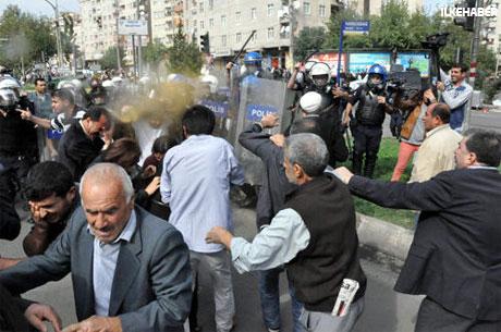 BDP'li Vekillere biber gazlı müdahale galerisi resim 25