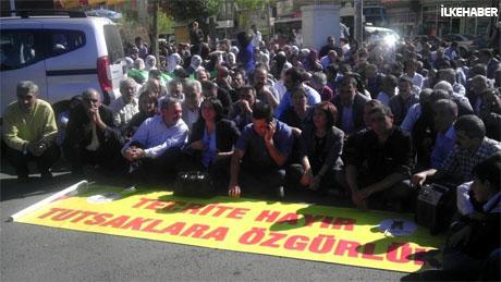 BDP'li Vekillere biber gazlı müdahale galerisi resim 27