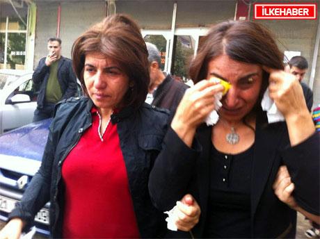 BDP'li Vekillere biber gazlı müdahale galerisi resim 28