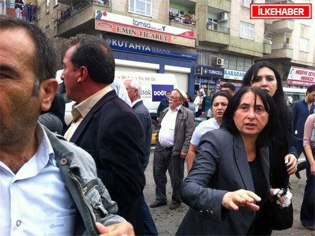 BDP'li Vekillere biber gazlı müdahale galerisi resim 31