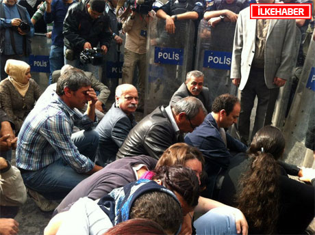 BDP'li Vekillere biber gazlı müdahale galerisi resim 32