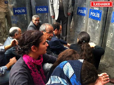 BDP'li Vekillere biber gazlı müdahale galerisi resim 33