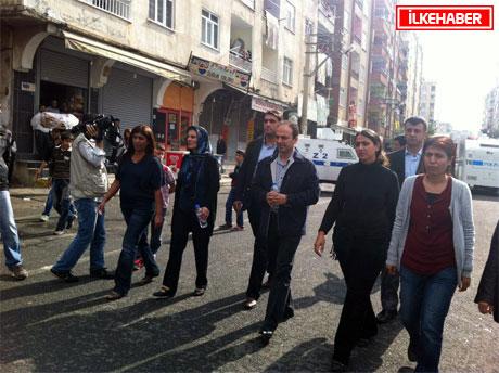 BDP'li Vekillere biber gazlı müdahale galerisi resim 34