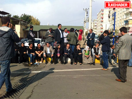 BDP'li Vekillere biber gazlı müdahale galerisi resim 36