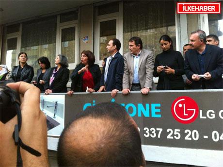 BDP'li Vekillere biber gazlı müdahale galerisi resim 40