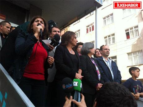 BDP'li Vekillere biber gazlı müdahale galerisi resim 41