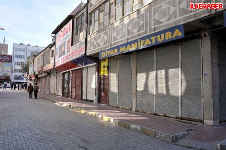 Diyarbakır'da hayat durdu galerisi resim 12