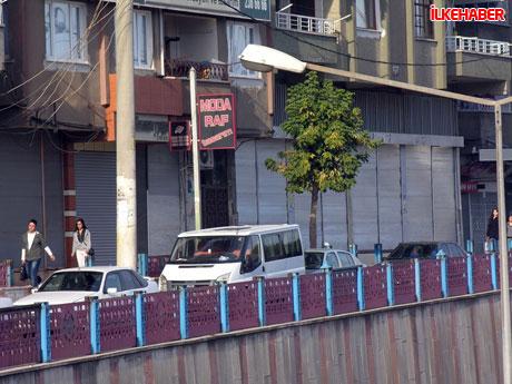 Diyarbakır'da hayat durdu galerisi resim 21