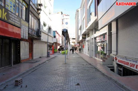 Diyarbakır'da hayat durdu galerisi resim 3