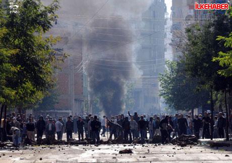 Diyarbakır'da hayat durdu galerisi resim 32