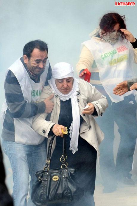 Diyarbakır'da hayat durdu galerisi resim 40
