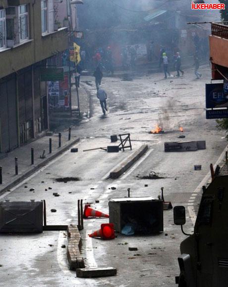Diyarbakır'da hayat durdu galerisi resim 42
