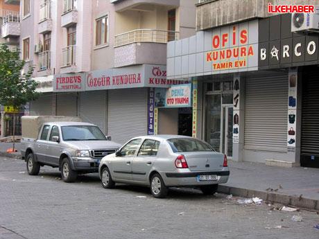 Diyarbakır'da hayat durdu galerisi resim 6