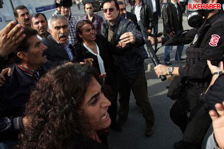 BDP'li vekillere biber gazlı polis müdahalesi! galerisi resim 2