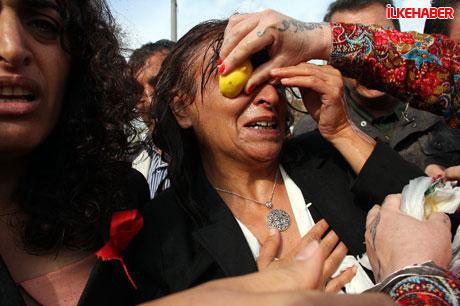 BDP'li vekillere biber gazlı polis müdahalesi! galerisi resim 20