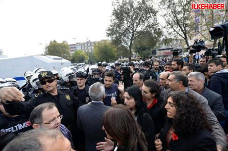 BDP'li vekillere biber gazlı polis müdahalesi! galerisi resim 23