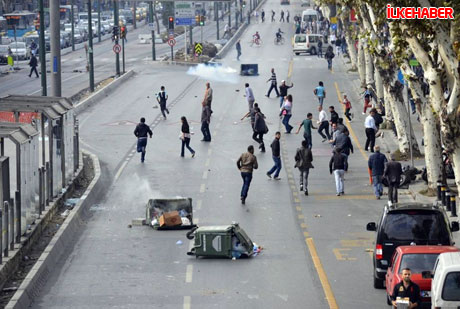 BDP'li vekillere biber gazlı polis müdahalesi! galerisi resim 31