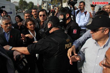 BDP'li vekillere biber gazlı polis müdahalesi! galerisi resim 4