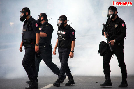 BDP'li vekillere biber gazlı polis müdahalesi! galerisi resim 7
