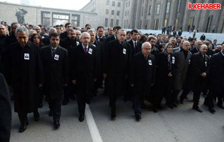 Şerafettin Elçi için Meclis'te tören düzenlendi galerisi resim 18