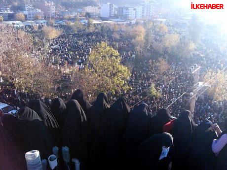 Şerafettin Elçi'yi 100 bin kişi uğurladı galerisi resim 14