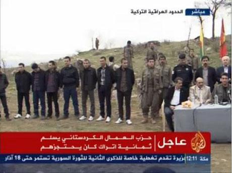 PKK, kamu görevlisi ve askerleri serbest bıraktı galerisi resim 13