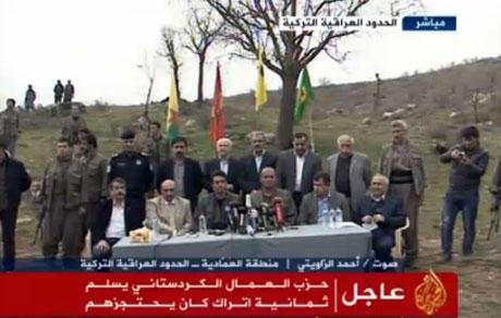 PKK, kamu görevlisi ve askerleri serbest bıraktı galerisi resim 5