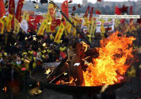 Tarihi 2013 Newroz'undan kareler galerisi resim 13