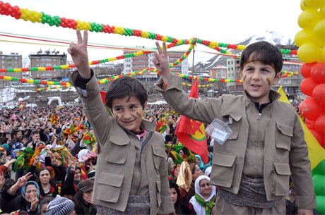 Tarihi 2013 Newroz'undan kareler galerisi resim 30