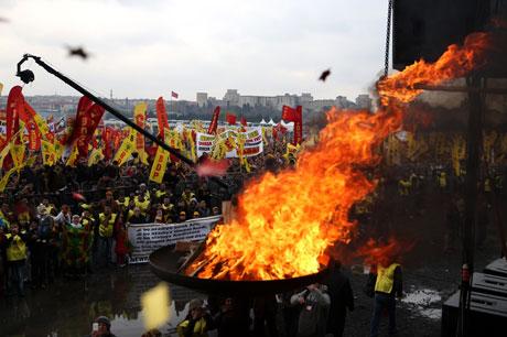 Tarihi 2013 Newroz'undan kareler galerisi resim 5