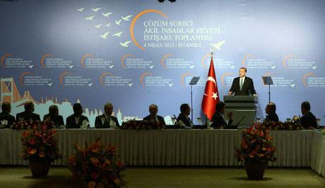 Başbakan Akil Adamlarla biraraya geldi galerisi resim 1