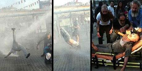 Fotoğraflarla Gezi Park'ı eylemi galerisi resim 28