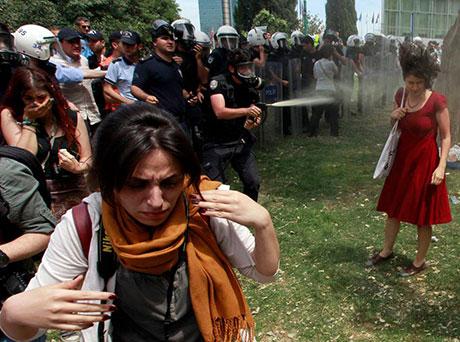 Fotoğraflarla Gezi Park'ı eylemi galerisi resim 51