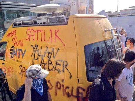 Fotoğraflarla Gezi Park'ı eylemi galerisi resim 52