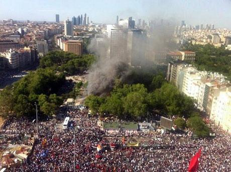 Fotoğraflarla Gezi Park'ı eylemi galerisi resim 54