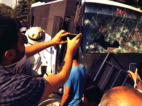 Fotoğraflarla Gezi Park'ı eylemi galerisi resim 56