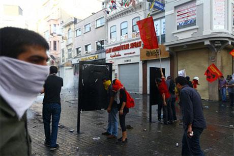Fotoğraflarla Gezi Park'ı eylemi galerisi resim 7
