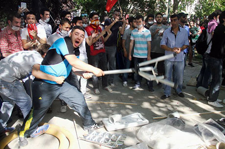 Fotoğraflarla Gezi Park'ı eylemi galerisi resim 71
